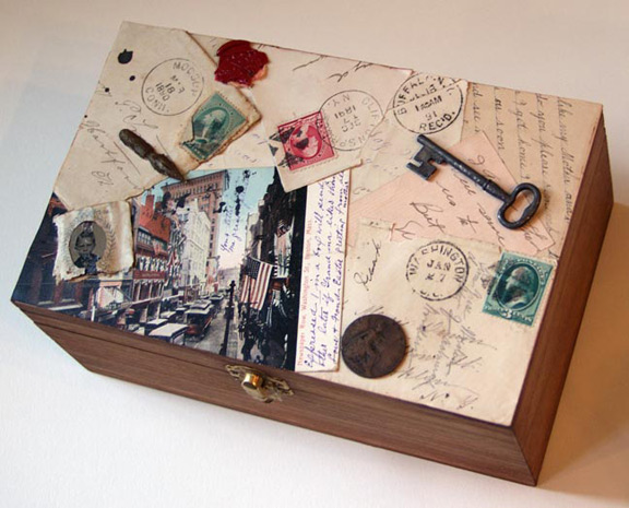 Nicotine free crafts crafting with cigarette and cigar for Cardboard cigar box crafts
